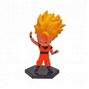 FIGURA CABEZONA GOKU SUPER SAIYAN 3 DRAGON BALL ALTURA 13 CM