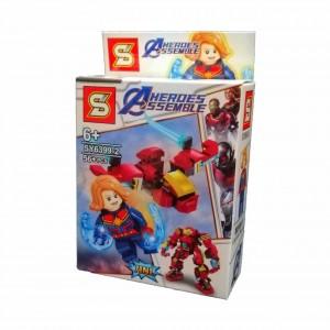 LEGO AVENGERS SERIE SY6399-2 CAPITANA MARVEL