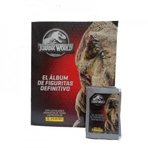 Combo 50 Figus + álbum Jurassic World