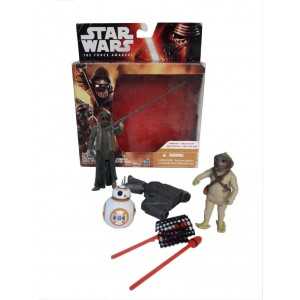 Figuras originales Star Wars BB-8 + Unkar + Jakku