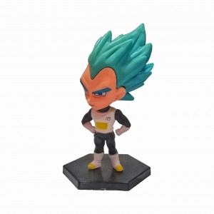 FIGURA CABEZONA VEGETA DRAGON BALL ALTURA 12 CM