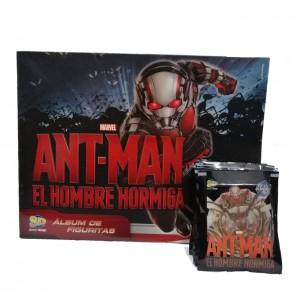 Combo 50 Figus + álbum Antman