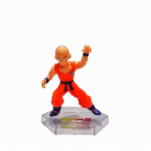 Figura mediana Dragon Ball Krilin base transparente