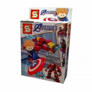 LEGO AVENGERS SERIE SY6399-5 CAPITAN AMERICA