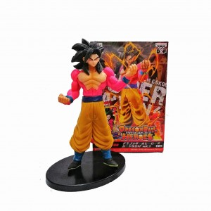 Figura Dragon Ball Súper Saiyán 4 Son Goku