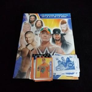 Lote de Figus x 55 unid + álbum WWE