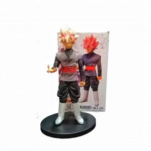 Figura Dragon Ball Súper Saiyán Rosé Goku Black