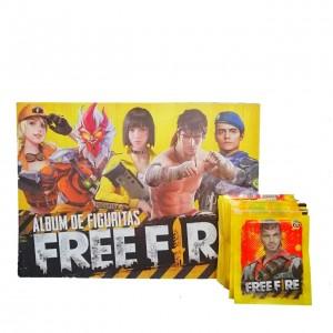 Combo 50 Figus + álbum Free Fire