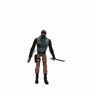 Figura Tortugas Ninjas Foot Soldier Altura 12 cm