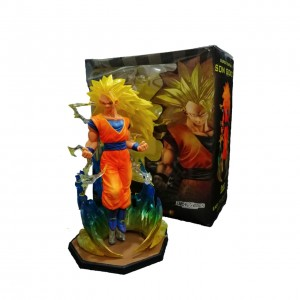 Figura Dragon Ball Son Goku Super Saiyán 3