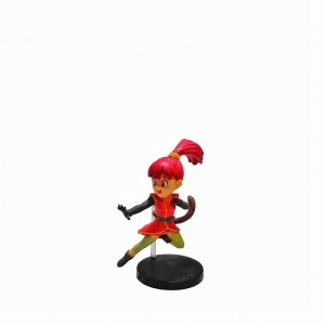 Figura chica Dragon Ball Gogeta base negra