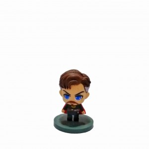 Figura Avengers Cabezón Dr Strange Base verde