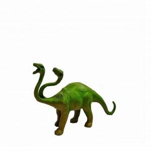 Figura Dinosaurios 2 cabezas Altura 9 cm