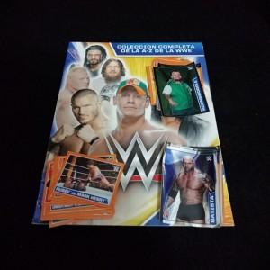 Lote de Figus x 50 unid + álbum WWE