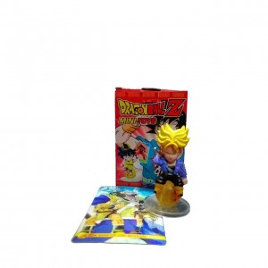 Mini Toy Dragon Ball Trunks SS