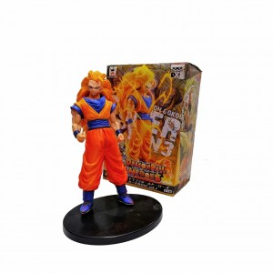 Figura Dragon Ball Súper Saiyán 3 Son Goku