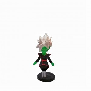 Figura chica Dragon Ball Fused Zamasu base negra
