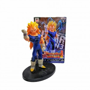 Figura Dragon Ball Vegeta Super Saiyán 3
