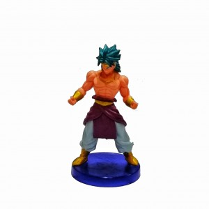 Figura mediana Dragon Ball Broly base violeta
