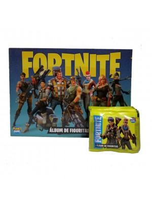 Combo 50 Figus + álbum Fortnite Epic Games