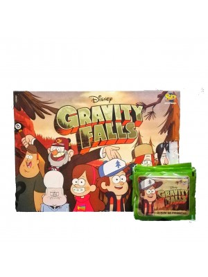 Combo 50 Figus + álbum Gravity Falls