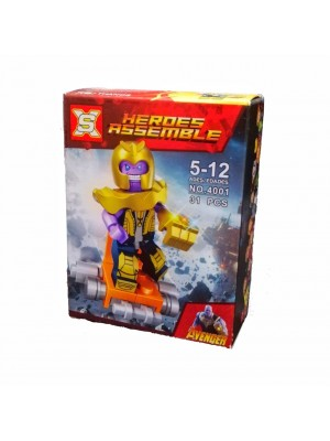 Lego Avengers serie 4001 Thanos