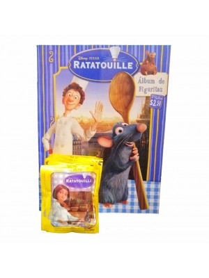 Combo 50 Figus + álbum Ratatouille