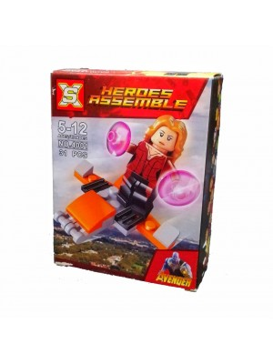Lego Avengers serie 4001 Scarlet Witch