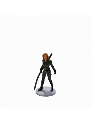 Figura Avengers Base gris Black Widow