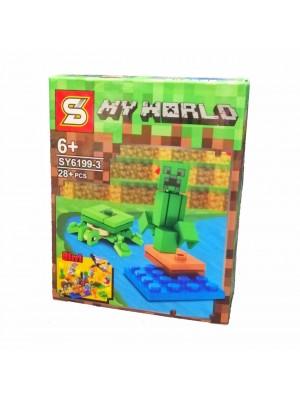 Lego Minecraft serie SY6199-3