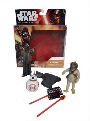 Figuras originales Star Wars BB-8 + Unkar + Jakku