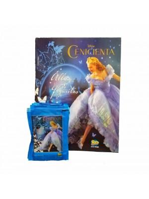 Combo 50 Figus + álbum Cenicienta