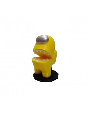 Figura Among Us Amarillo Altura 6 cm