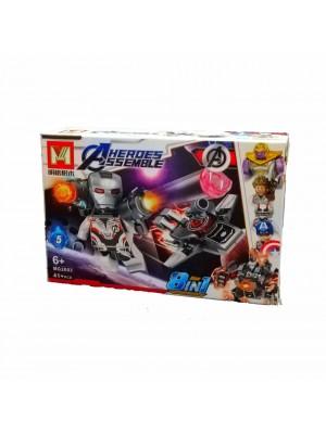 Lego Avengers serie MG2003 War Machine