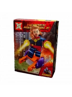 Lego Avengers serie 4001 Capitana Marvel