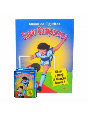 Combo 50 Figus + álbum Super Campeones