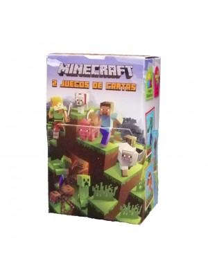Naipe Minecraft - 32 cartas
