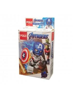 Lego Avengers serie 6013-1 Capitán América