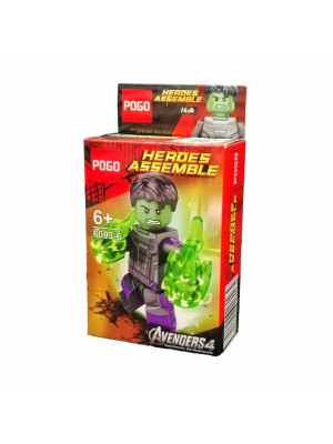 Lego Avengers serie 6003-6 Hulk