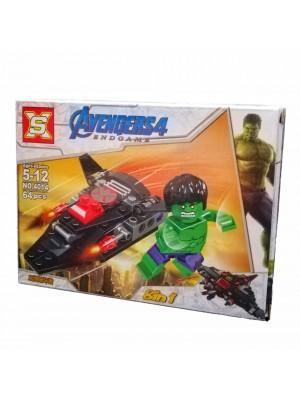 Lego Avengers serie 4014 Hulk