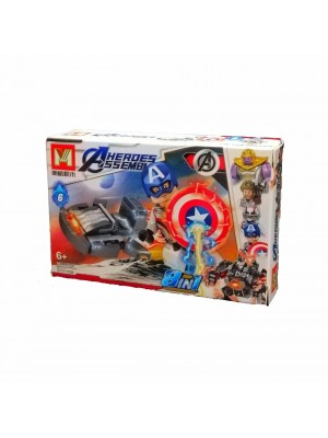 Lego Avengers serie MG2003 Capitán América