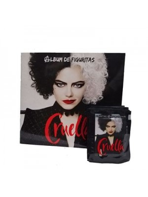 Combo 50 Figus + álbum Cruella