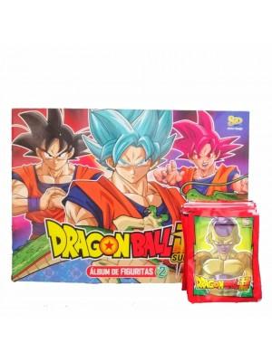 Combo 50 Figus + álbum Dragon Ball súper