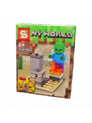 Lego Minecraft serie SY6199-6