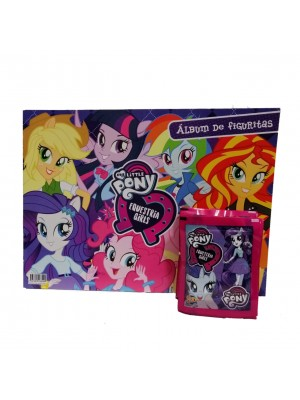 Combo 50 Figus + álbum My Little Pony & Equestria Girls