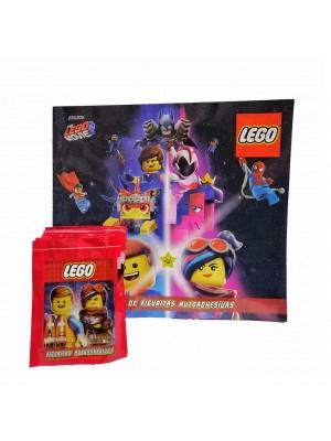 Combo 50 Figus + álbum Lego