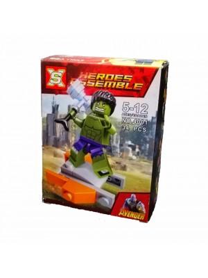 Lego Avengers serie 4001 Hulk