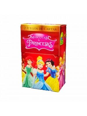 Naipe Mascotas & Princesas - 32 cartas