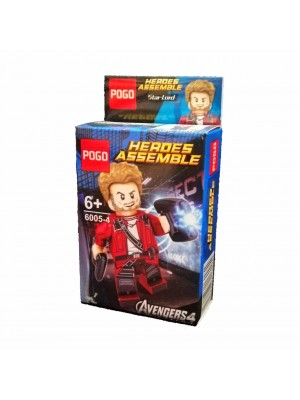 Lego Avengers serie 6005-4 Star Lord