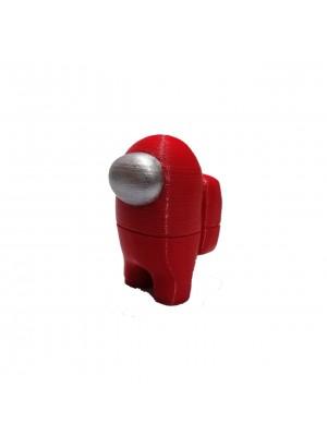 Figura Among Us Rojo Altura 6 cm